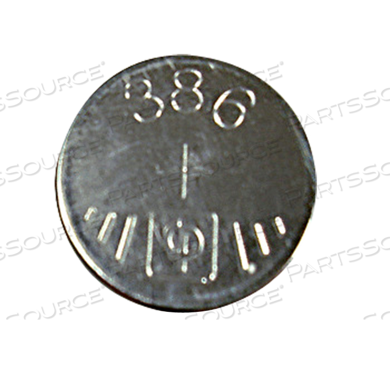 386 SILVER BUTTON CELL BATTERY, S1142 by R&D Batteries, Inc.