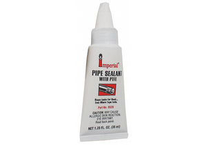 PIPE THREAD SEALANT 35ML TUBE WHITE PK4 by Imperial Supplies
