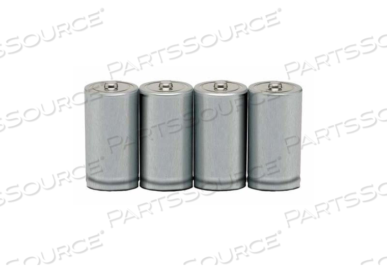 BATTERY, C, ALKALINE, 1.5VDC, 6880 MAH (PACK OF 4) by Ability One