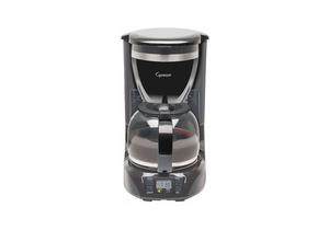 COFFEE MAKER SINGLE BLACK 12 CUP by Capresso