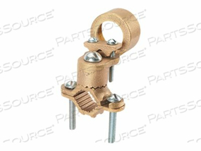 PANDUIT STRUCTURED GROUND MECHANICAL CONNECTORS BRONZE GROUND CLAMP FOR CONDUIT WITH GUILLOTINE, HEAVY DUTY - GROUNDING CLAMP KIT by Panduit