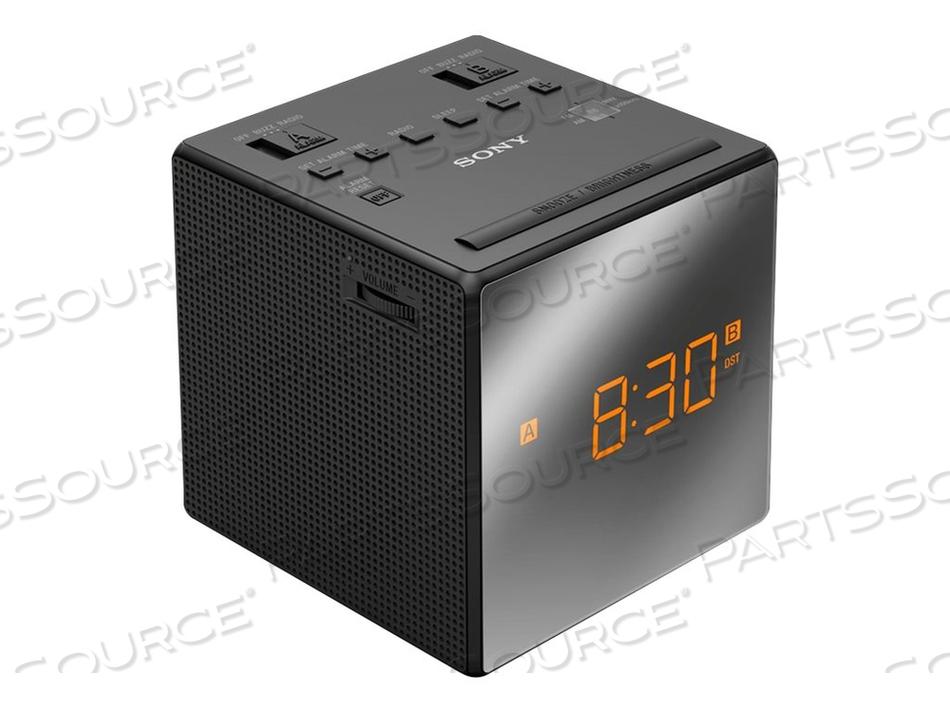 SONY ICF-C1T - CLOCK RADIO - 100 MW - BLACK by Sony Electronics