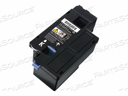 DELL - HIGH CAPACITY - BLACK - ORIGINAL - TONER CARTRIDGE - FOR COLOR LASER PRINTER 1250, C1760, COLOR PRINTER C1760, MULTIFUNCTION COLOR PRINTER C1765 by Dell Computer