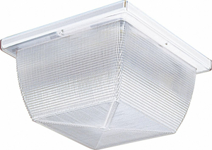 HI ABUSE LIGHT CFL SQUARE 3500K 100W by Lithonia Lighting