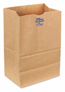 GROCERY BAG BRN 13-3/8 L 8-1/4 W PK400 by Duro