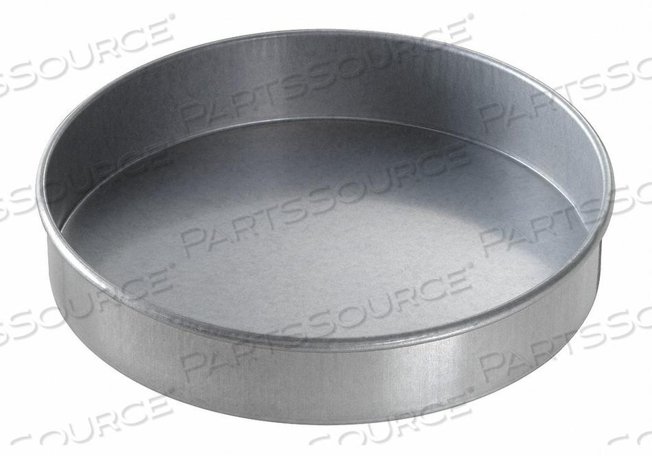 ROUND CAKE PAN PLAIN 8X1-1/2 by Chicago Metallic