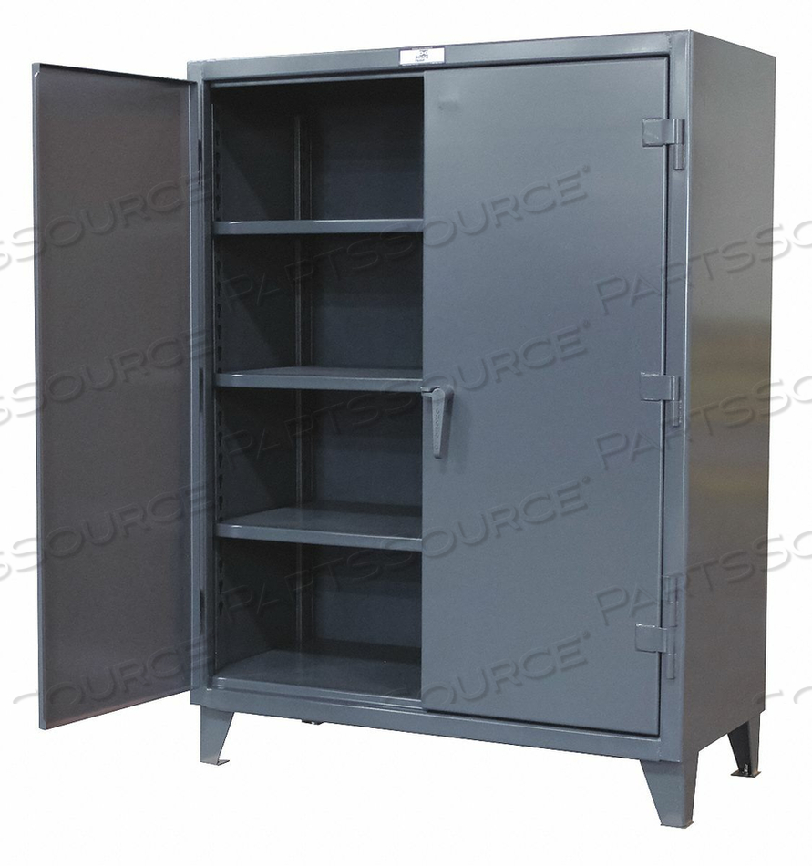 SHELVING CABINET 72 H 48 W DARK GRAY by Strong Hold