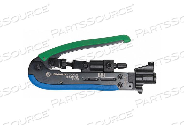 CRIMPER RG-59 RG-6 AND RG-11 6-3/4 L by Jonard Tools