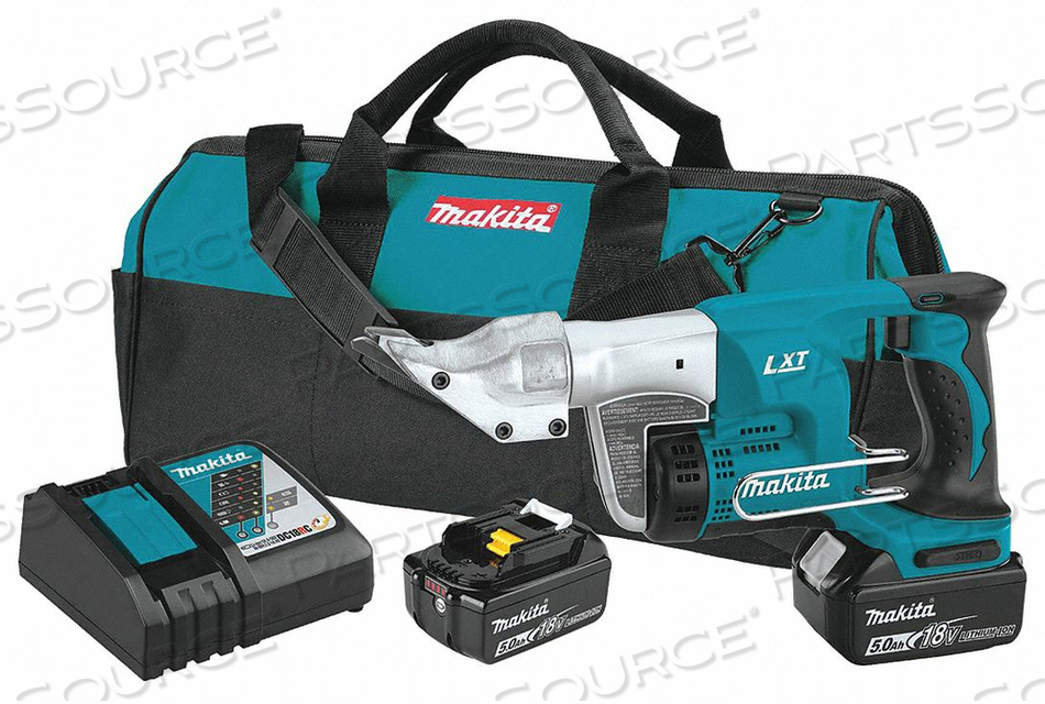 CORDLESS SHEAR 18V 20 GA. SS CAPACITY by Makita