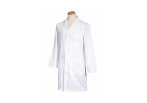 LAB COAT WHITE 39-1/2 L XL by Fashion Seal