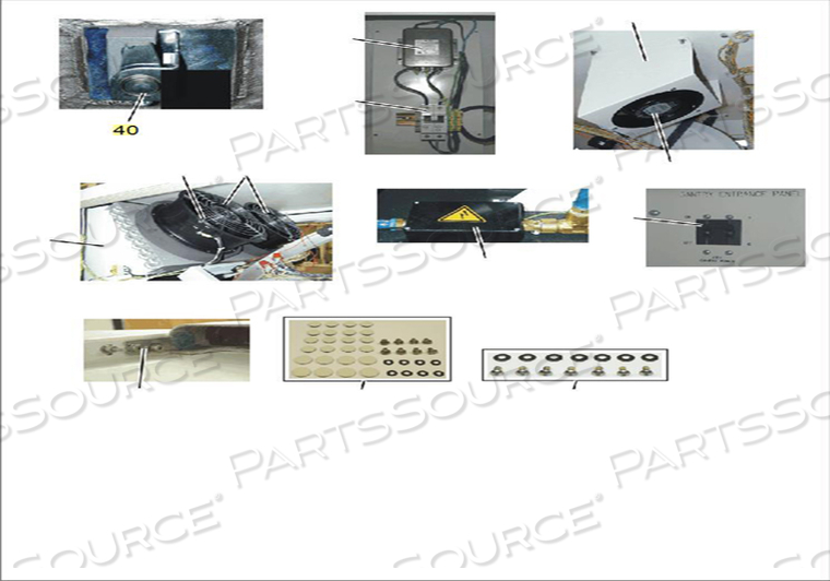 GANTRY COVER SLOTTED FLANGE LATCH