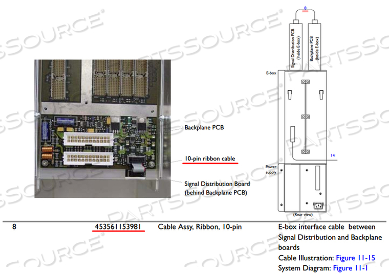 HD11 - CABLE RIBBON 10 PIN