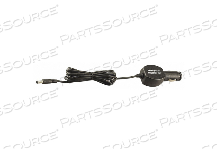 DC CORD FOR WAYPOINT RECHARGEABLE BLACK by Streamlight