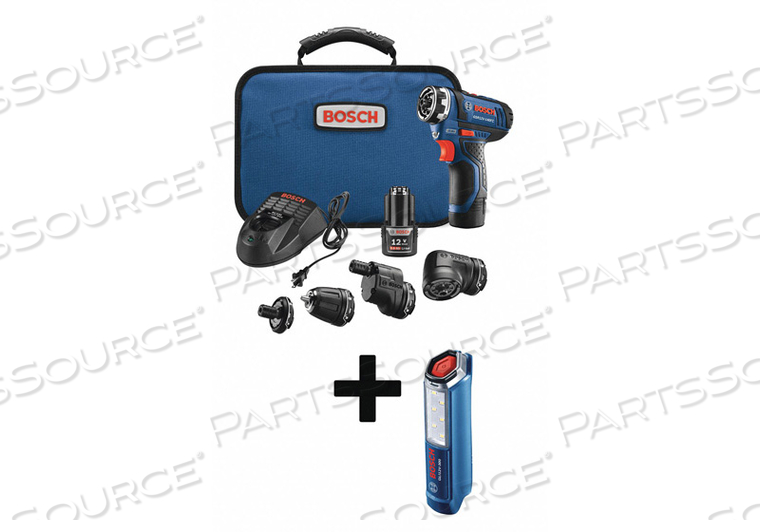 CORDLESS DRILL/DRIVER KIT 1.4 LB. by Bosch Tools