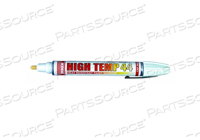 J7226 PAINT MARKER HIGH TEMP WHITE MEDIUM TIP by Dykem