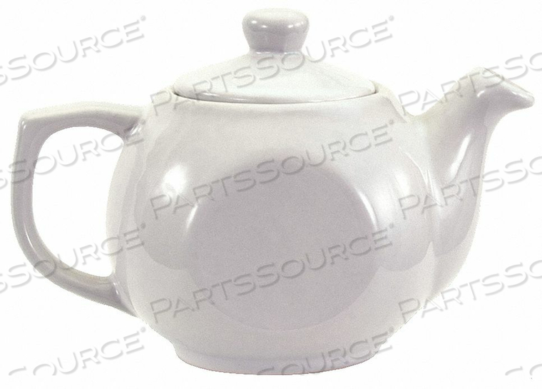 TEA POT BRIGHT WHITE 14 OZ. PK12 by Crestware