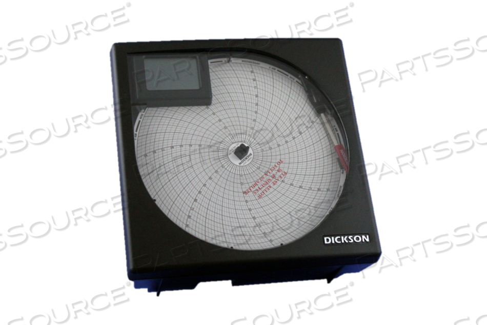 "8"" THERMOCOUPLE RECORDER WITH DISPLAY AND AUDIBLE/VISUAL ALARM by Dickson"