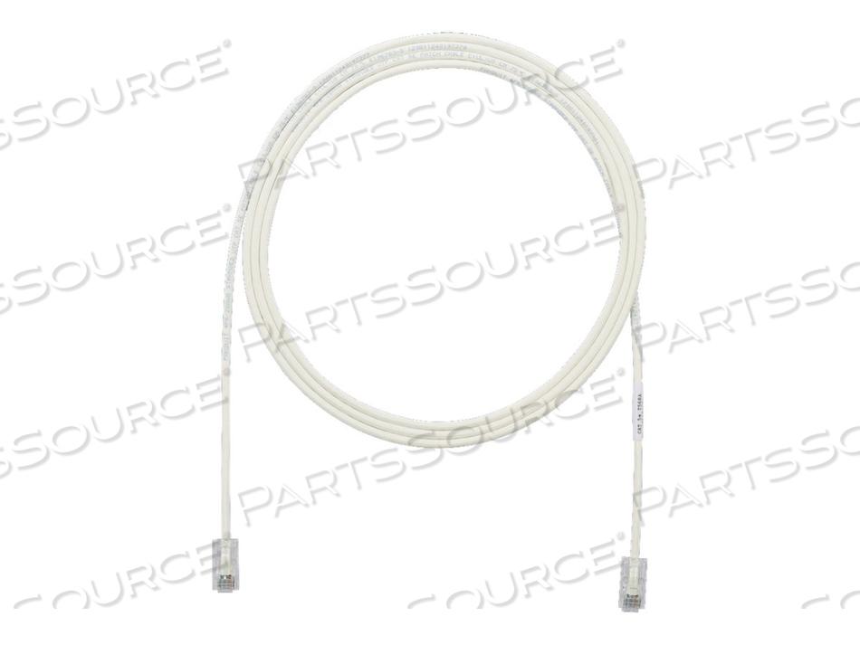 PANDUIT TX5E-28 CATEGORY 5E PERFORMANCE - PATCH CABLE - RJ-45 (M) TO RJ-45 (M) - 23 FT - UTP - CAT 5E - IEEE 802.3AF/IEEE 802.3AT - HALOGEN-FREE, SNAGLESS, STRANDED - OFF WHITE by Panduit
