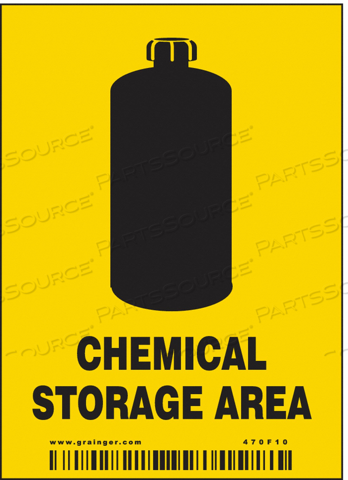 SAFETY SIGN 2-7/8 W 4 H PK25 by Condor