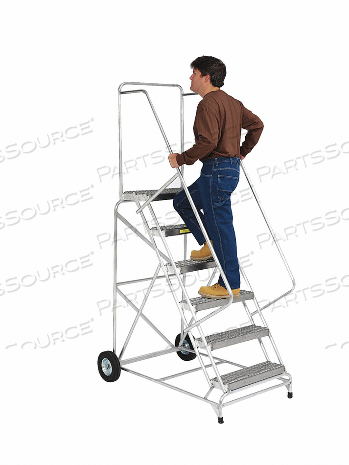 WHEELBARROW LADDER ALUMINUM 100 IN.H by Ballymore