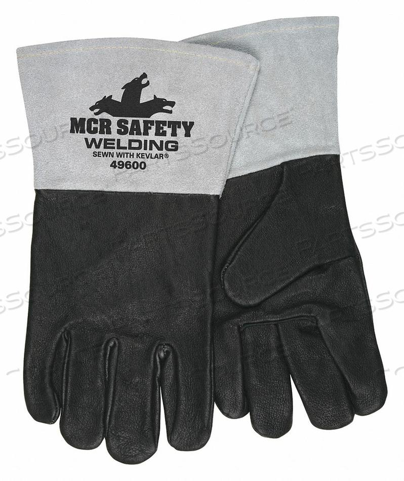 WELDING GLOVES MIG TIG S/7 PK12 by MCR Safety