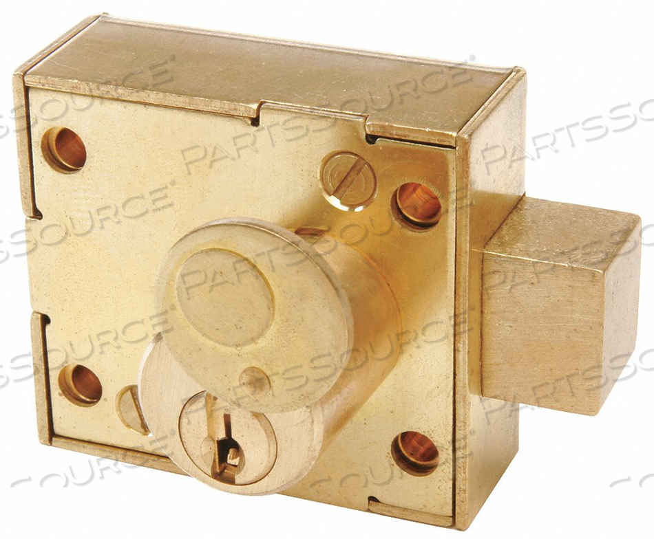 ENCLOSURE LOCK PIN RAW BRASS by CCL