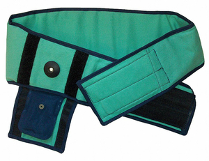 FIRE-RESISTANT BACK SUPPORT GREEN S by Impacto