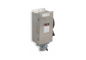 SAFETY SWITCH 600VAC 3PST 30 AMPS AC by Square D