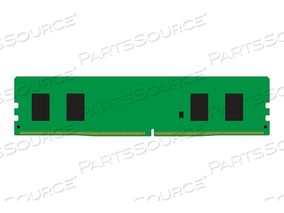 KINGSTON VALUERAM - DDR4 - 4 GB - DIMM 288-PIN - 2666 MHZ / PC4-21300 - CL19 - 1.2 V - UNBUFFERED - NON-ECC by Kingston Technology