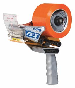 HANDHELD TAPE DISPENSER 72MM W GRAY by Shurtape