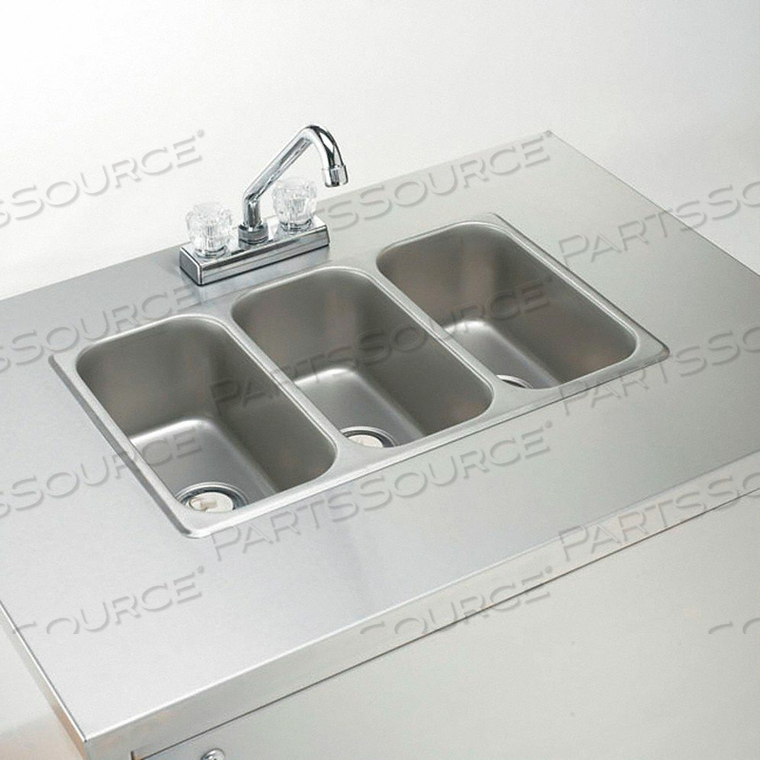 TOPLINE PORT HAND SINK RECT 12INX6INX5IN by Crown Verity