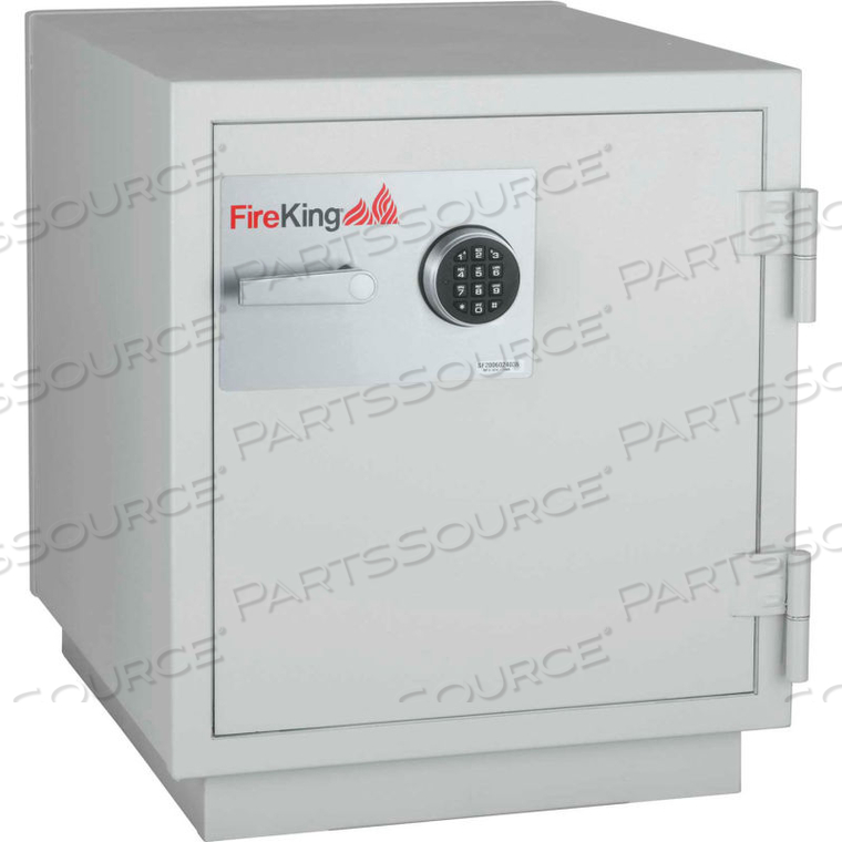 DATA SAFE DM1413-3, 3-HOUR FIRE/IMPACT RATING 25-1/4 X 31 X 29-5/8 PLATINUM FINISH by Fire King