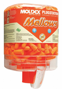 EAR PLUGS WITH DISPENSER 30DB PK250 by Moldex
