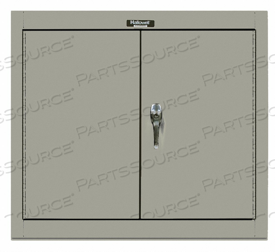 G6775 WALL CABINET 26 H 30 W GRAY by Hallowell