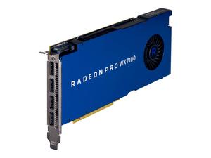AMD RADEON PRO WX 7100 - GRAPHICS CARD - RADEON PRO WX 7100 - 8 GB GDDR5 - PCIE 3.0 X16 - 4 X DISPLAYPORT - FOR WORKSTATION Z2 G4 by HP (Hewlett-Packard)