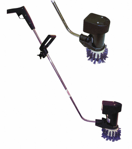 TILE AND BASEBOARD SCRUBBER SINGLE 6.5IN by Cortech