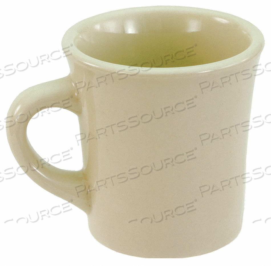 MUG BONE WHITE 9-1/2 OZ. PK36 by Crestware