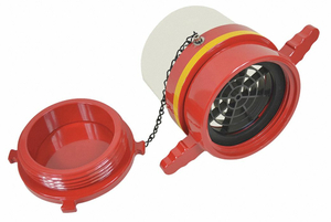 DRY HYDRANT STRAIGHT ADAPTER 6 IN FEMALE by Moon American