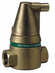 AIR SEPARATOR 150PSI 240 AUTOMATIC by Taco