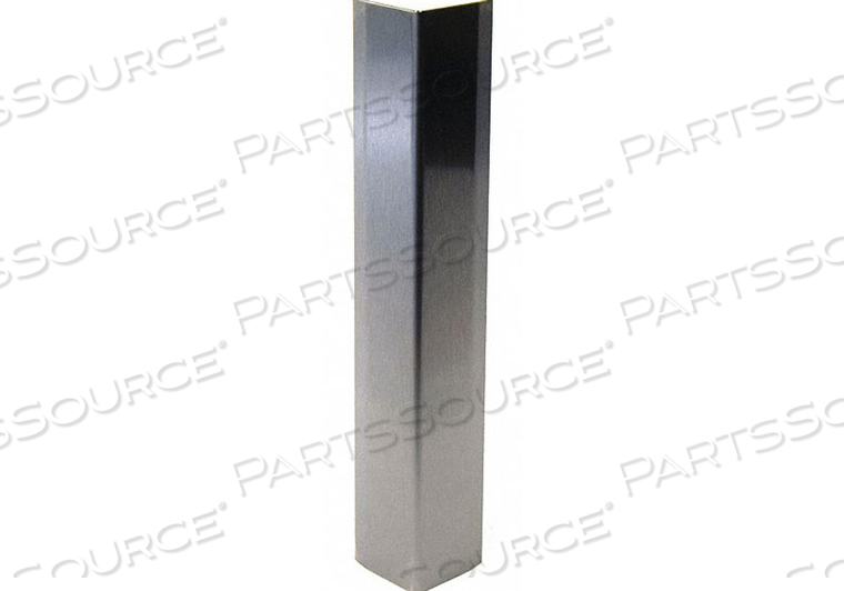 CORNER GRD 3-1/2IN.W STAINLESS NO4 SATIN by Pawling Corp