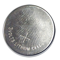 COIN CELL BATTERY, 3 V, LITHIUM ION by Physio-Control