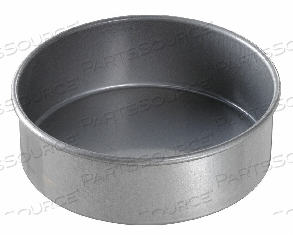 ROUND CAKE PAN PLAIN 6X2 by Chicago Metallic