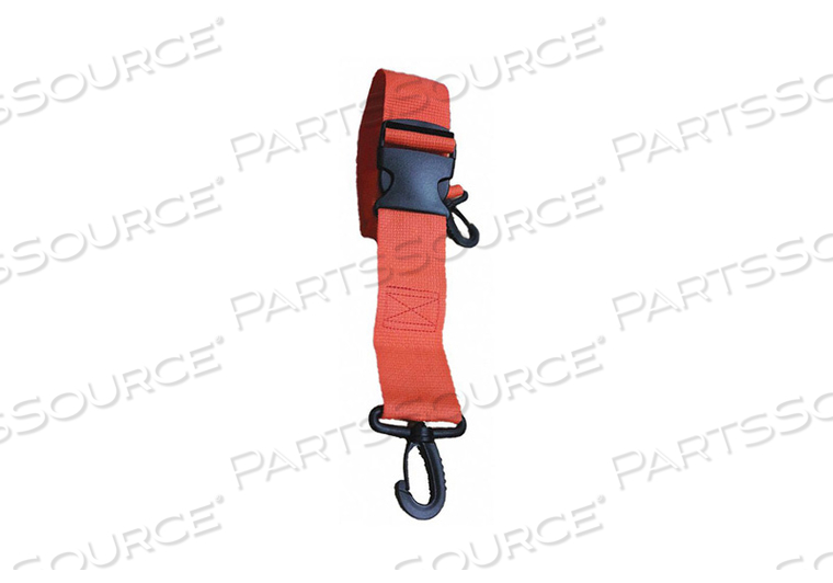 STRAP ORANGE 5 FT L by Disaster Management Systems (DMS)