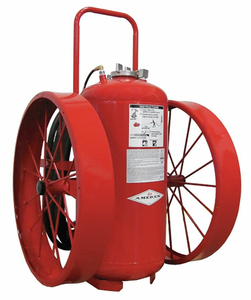 WHEELED FIRE EXTINGUISHER 300 LB 50 FT by Amerex