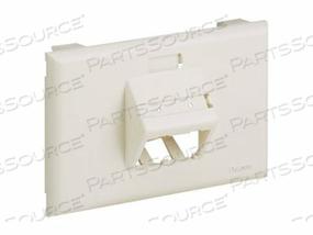 PANDUIT MINI-COM ULTIMATE ID - FACEPLATE - OFF WHITE - 2 PORTS by Panduit