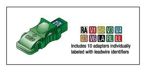 BANANA PLUG LEADWIRE ADAPTOR KIT by Replacement Parts Industries (RPI)