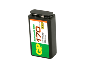 BATTERY RECHARGEABLE, 9V, NICKEL METAL HYDRIDE, 8.4V, 180 MAH by Datex-Ohmeda