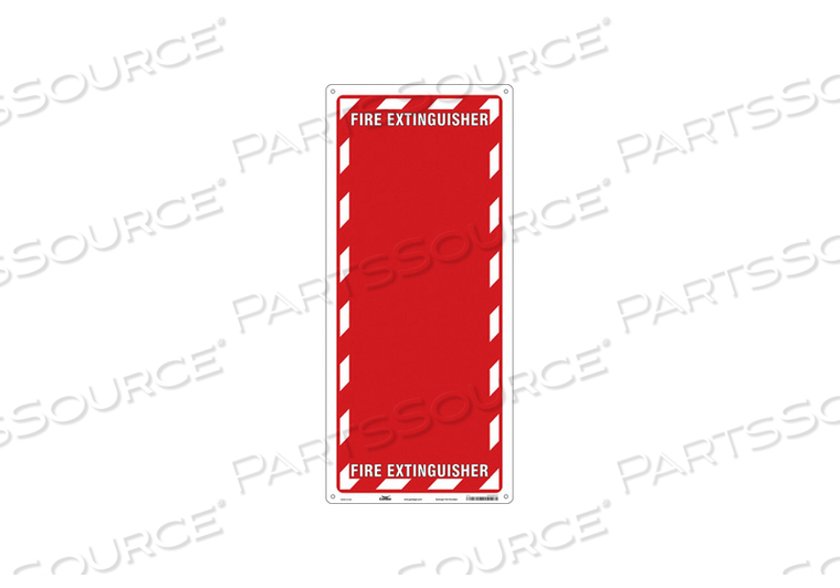 SAFETY SIGN 13 W 29 H 0.055 THICKNESS by Condor