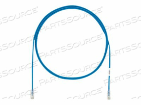 PANDUIT TX6A-28 CATEGORY 6A PERFORMANCE - PATCH CABLE - RJ-45 (M) TO RJ-45 (M) - 50 FT - FOILED UNSHIELDED TWISTED PAIR (F/UTP) - CAT 6A - IEEE 802.3AF/IEEE 802.3AT - SOLID, SNAGLESS, HALOGEN-FREE, BOOTED - BLUE by Panduit
