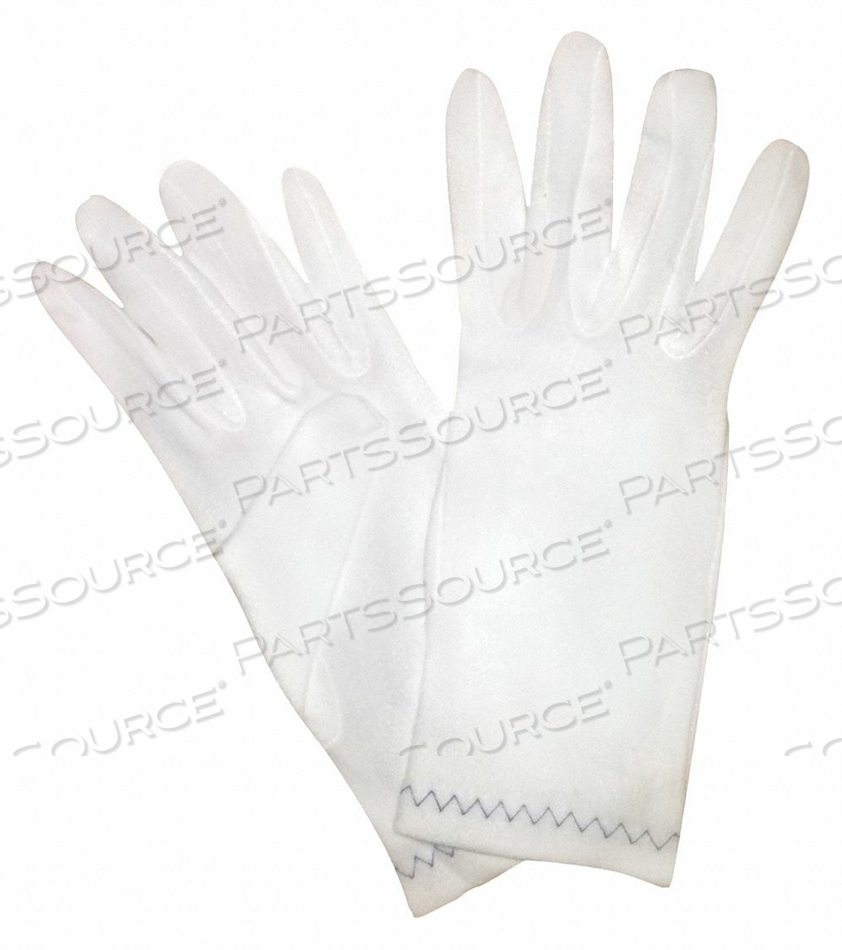INSPECTION GLOVES L WHITE PK12 by Condor